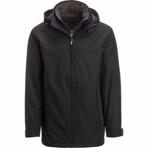NEW Weatherproof Double Zipper Hoodie Jacket Black